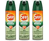 Off! Deep Woods Dry Insect Repellent VIII 4 oz