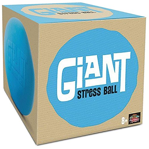 Giant Stress Ball - Huge Squishy Anxiety Reliever - Super Soft 6 Inch Stretch Ball