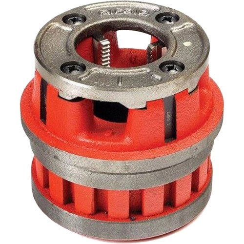 RIDGID 37395 Model 12-R Hand Threader Die Head, Alloy Right-Handed NPT Die Head for Nominal Pipe Size of 3/4-Inches (Head 3/4 Die)