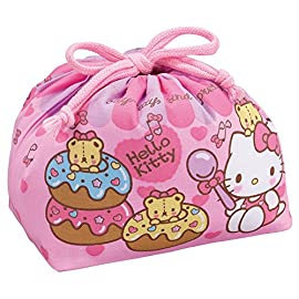 [Hello Kitty] DrawString lunch bag