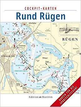 Rügen Karte.Rund Rügen Cockpit Karten Amazon De Bücher