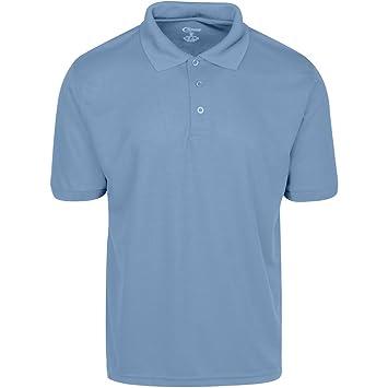 e240c5b64 Amazon.com: Premium Mens High Moisture Wicking Polo T Shirts: Clothing