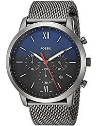 Men's 'Neutra Chrono' Quartz Stainless Steel Casual Watch, Color:Grey (Model: FS5383)