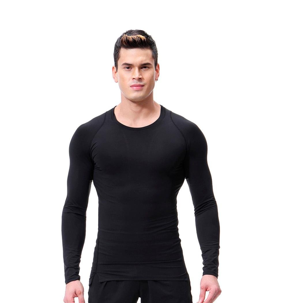 Resplend Camiseta de Fitness para Hombre con Mangas largas Rashguard Bodybuilding Skin Camiseta de Secado Total: Amazon.es: Ropa y accesorios