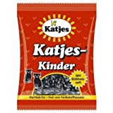 Katjes Kinder Licorice Cat-shaped Drops 200g Licorice Pieces (Pack of 2)