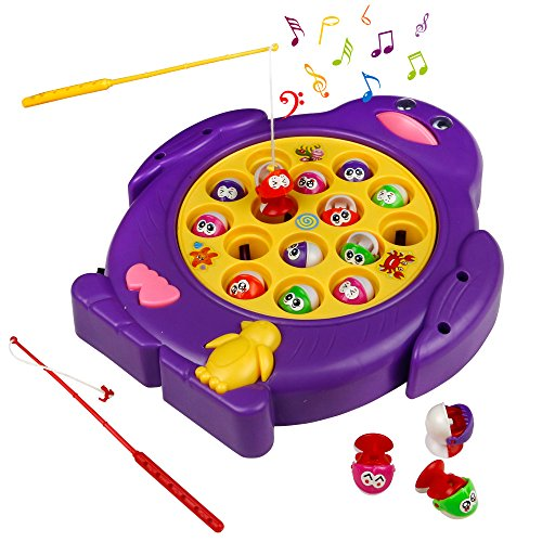 Low Cost Juego De Pesca De Mesa Juguete Musical Educativo Magnetic
