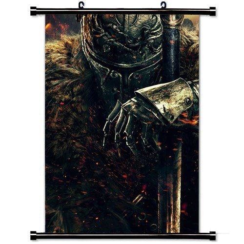 Wall Scroll Poster with Dark Souls Ii Dark Souls Warrior Kni