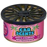California Car Scents Duftdose für das Auto. Duftrichtung: Shasta Strawberry (Erdberre)