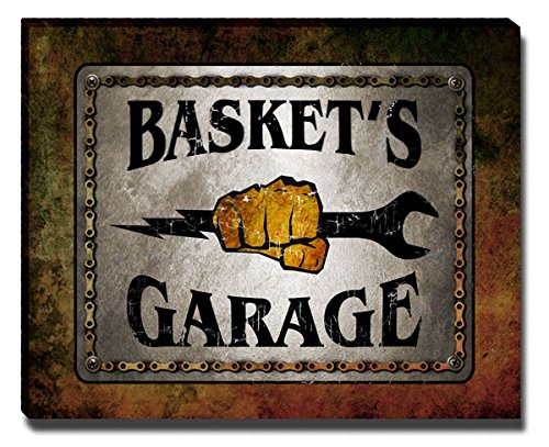 ZuWEE Basket Family Garage Gallery Wrapped Canvas Print