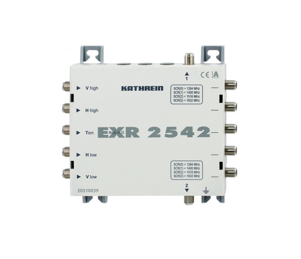 Kathrein EXR 2542 - Reproductor/sintonizador (500 g, -20-55 °C, 159 ...