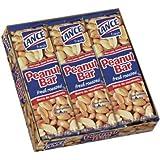 Lance Peanut Bars - Sweet & Crunchy Fresh Roasted Snack Treat - 6 Bars