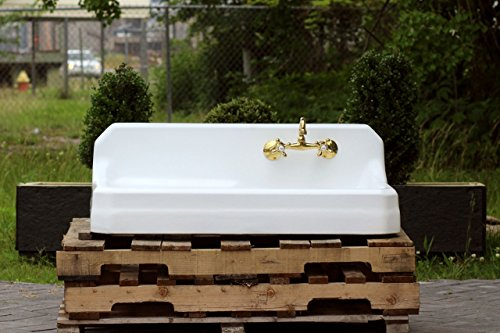 Vintage Porcelain Sink (1946 Refinished Single Basin Richmond 42