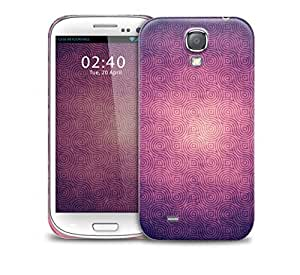 Vintage Purple Wallpaper Samsung Galaxy S4 GS4 protective phone case by mcsharks