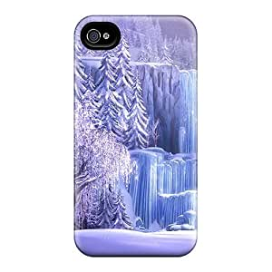 Cute Luoxunmobile333 Disney Frozen Movie Waterfall Cases Covers For Iphone 6plus