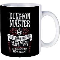 Ceramic Coffee/Tea Cup Gift Dungeon Master, The Weaver of Lore & Fate Coffee Mugs Novelty White Tea Mug 11 Oz