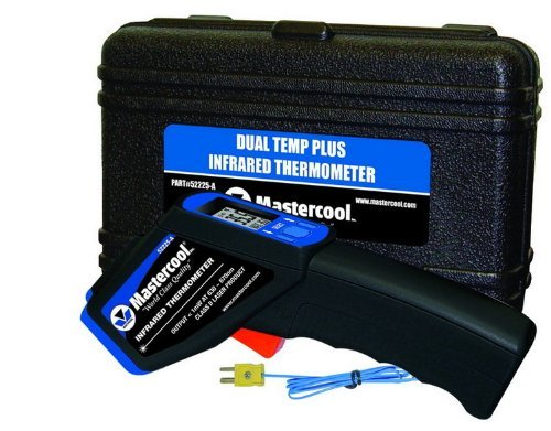 Mastercool 52225-A Dual Temp Plus Infrared Gun Dual Temp Plus Infrared Thermometer