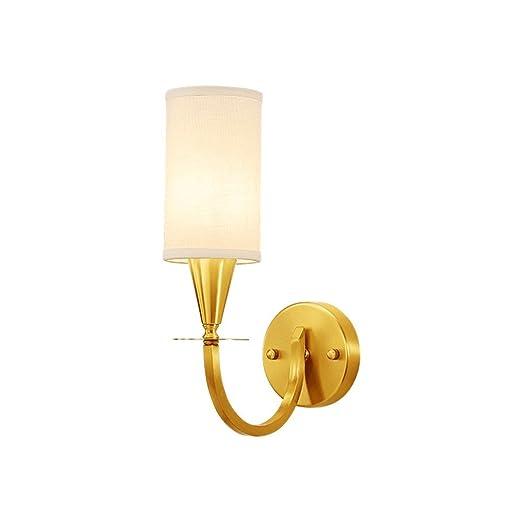 Amazon.com: Avanthika E27 - Lámpara de pared con espejo para ...