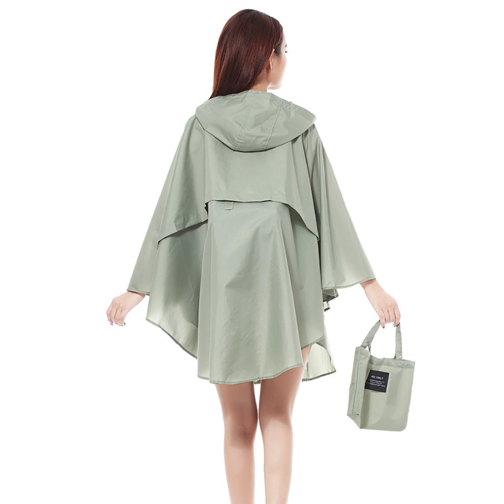 A Bicycle Raincoat Women's Waterproof Poncho for Outdoor Camping Hiking Travel (color   C)