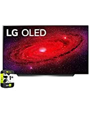 LG OLED65CXPUA 65 inch CX 4K Smart OLED TV with AI ThinQ 2020 Bundle with 1 Year Extended Protection Plan