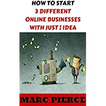 How To Start 3 Different Online Businesses With Just 1 Idea: Sell Products, Start a Blog & Create Passive Income (Making Money Online, Entrepreneurship & small business, business marketing)