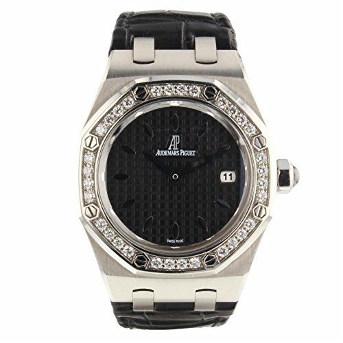 Audemars Piguet Royal Oak Swiss-Quartz Female Watch 67601ST.ZZ.D002CR.01 (Certified Pre-Owned)