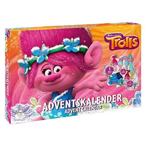 DreamWorks Calendrier de l'Avent Trolls, 57347