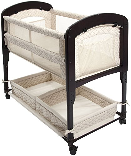 Image of the Arm's Reach Concepts Cambria Co-Sleeper Bassinet, Natural
