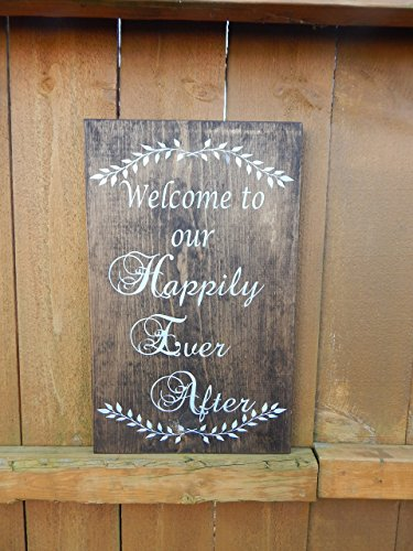 Personalized REAL GOLD FOIL Wedding Welcome Print - Welcome