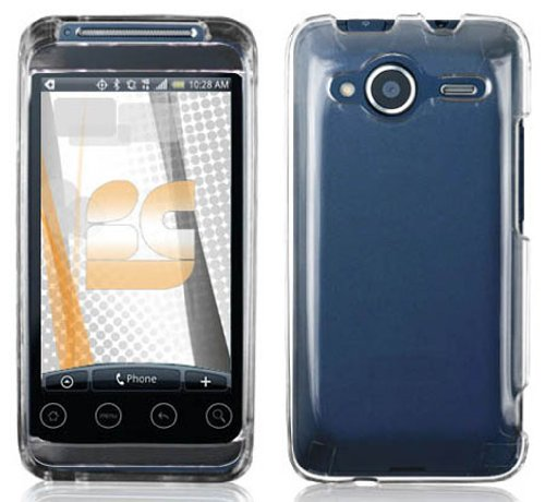 Clear Protector Case for HTC EVO Shift 4G