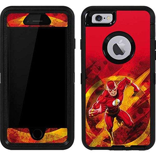 (DC Comics Flash OtterBox Defender iPhone 6 Skin - Ripped Flash)