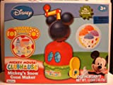 Disney Mickey Mouse Mickey's Snow Cone Maker Snowcone