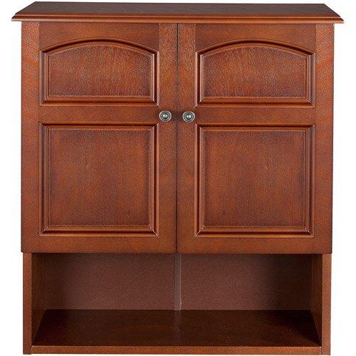 Elegant Home Fashions Wall Cabinet Wood Storage Organizer Drawer Arcade