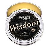 Can You Handlebar Wisdom Dry Oil Beard Balm: Woodsy