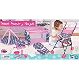 Lissi 5 Piece Doll Deluxe Nursery Play Set with 8