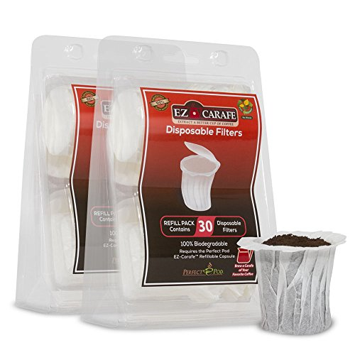 - Perfect Pod EZ-Carafe Paper Filter for 2.0 Carafe brewers - 2 Pack (60 filters)