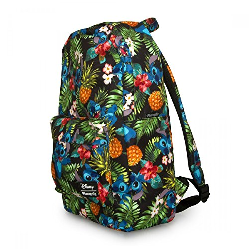 0f5a2d97b53 Loungefly Disney Stitch Hawaiian Backpack Multi - Import It All