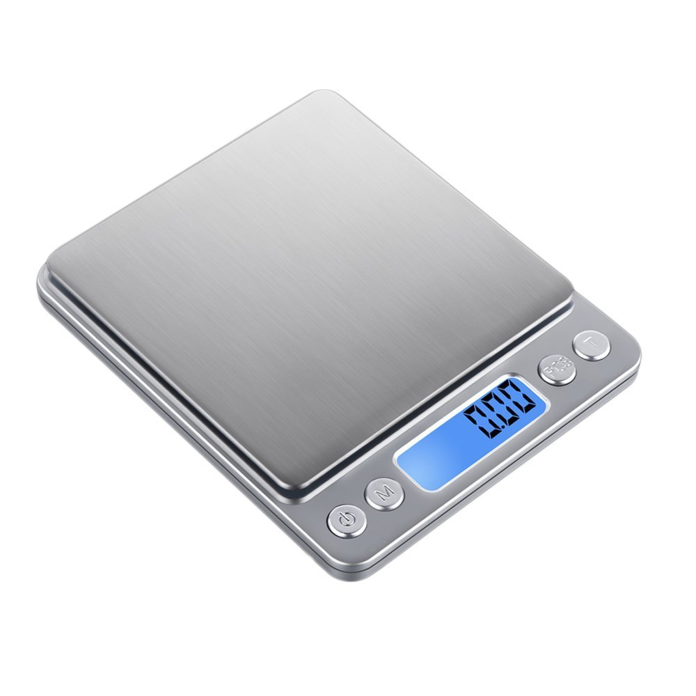 Amazon com food scale techzero digital pocket kitchen scale electric pro mini scale 3000g 0 1g kitchen dining