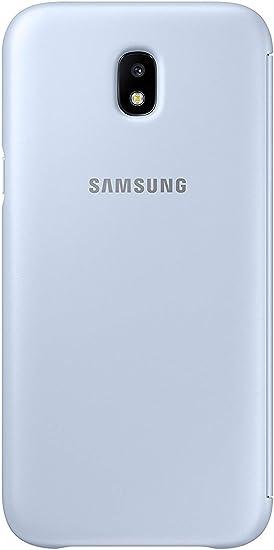 SAMSUNG Wallet Cover - Funda con Tapa Galaxy J5 2017, Color Azul ...