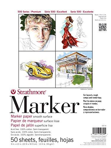 - Strathmore ((597-9 500 Series Marker Pad, 9