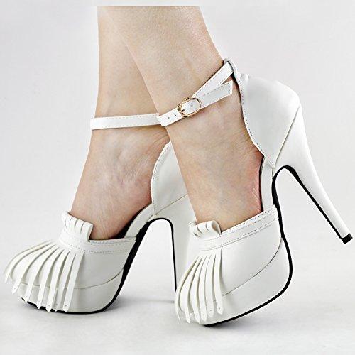 Show Story - plataforma mujer Blanco - blanco