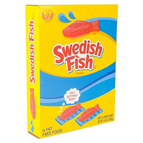 Perfect Size Box of Swedish Fish. One 14oz Box. -
