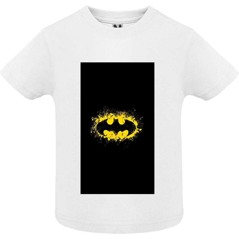 access-mobile-ile-de-re.fr T-Shirt - Manche Courte - Col Rond - Super Hero 8 - Bébé Garçon - Blanc - 2ans