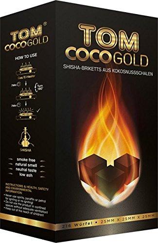 Tom COCOCHA Carbone Premium Gold 3 kg, 30 x 15 x 10 cm 17525