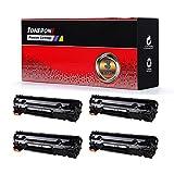 Cool Toner 4 Packs Compatible HP 78A CE278A Toner Cartridge For HP Laserjet P1606dn 1606dn HP Laserjet M1536dnf 1536dnf MFP HP Laserjet P1566 P1560 78A CE278A Toner Cartridge Printer Ink Black
