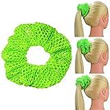choose Scrunchies Soft Mesh Knit Ultimate Summer Ponytail Holder Choose Size Scrunchie king