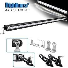 "LED Light Bar Kit Rigidhorse 52"" 400W Dual-Mode Light Bar LED Work Light Driving Light with Non-destructive Mounting Bracket for Sports Car SUV Jeep Pickup"