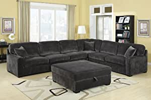 Amazon Com Luka Collection Sectional Extra Deep Seating