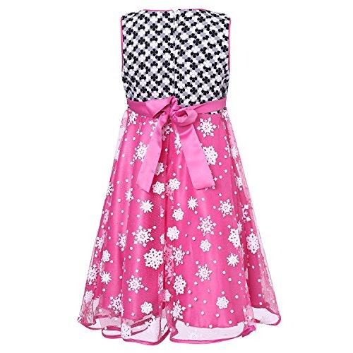 Richie House Little Big Girls' Princess Party Dress Size 3-8 Rh2242
