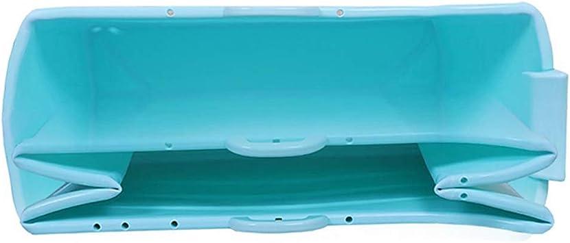 Bañera Plegable Adulto para Ducha Grande, Bañera Adulto Portatil Plástico, Tina De Baño Plegable para Adultos para Azul, Bañera De La Piscina del Bebé, Azul/Rosa 120 * 52 * 68cm: Amazon.es: Hogar