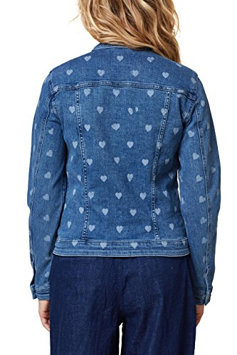 Wash Veste Bleu Femme 902 Medium Jean Esprit en Blue axBq0avd